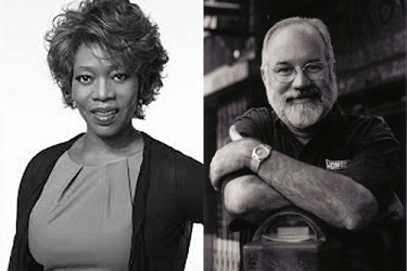 Alfre Woodard and Father Greg Boyle
