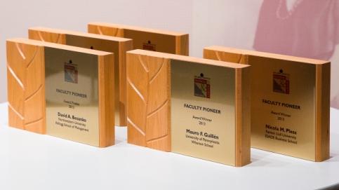 Faculty Pioneer Awards 2013