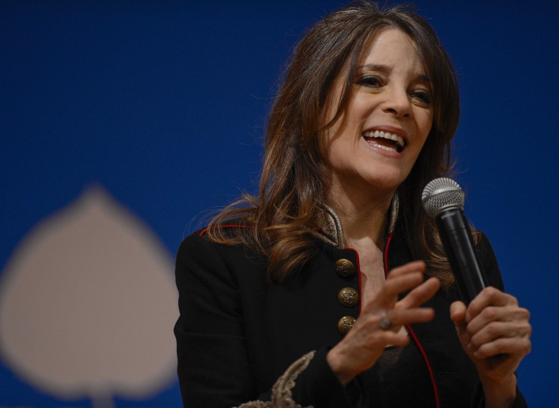 Marianne Williamson Talks Spirituality and Politics