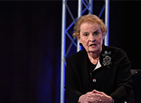 Madeleine Albright on Israeli-Palestinian Conflict, Unaccompanied Minors at US Border, and More
