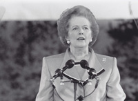 Margaret Thatcher Set History In Motion at the Aspen Institute