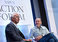 David Brooks and Skip Battle Avoid Politics To Talk Character Development