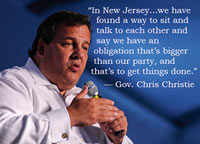 Chris Christie on Getting Things Done