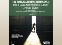 Is a Manufacturing Resurgence in Sight?