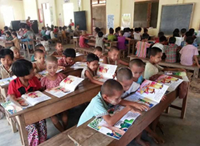 Helping Transition in Myanmar, One book at a Time