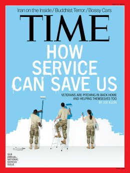 TIME magazine Features National Service and the Institute's Franklin Project