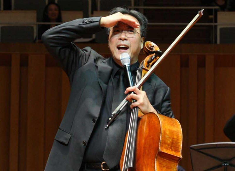Yo-Yo Ma Named 2013 Harman-Eisner Artist in Residence
