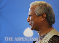Professor Muhammad Yunus: Social Business to End Poverty, Unemployment, and Lack of Health