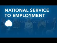 Strengthening The National Service To Employment Pipeline