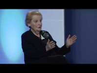 In Conversation with Former U.S. Secretary of State Madeleine Albright