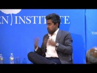 "New York Times columnist Anand Giridharadas on his new book ""The True American"" with David Brooks"