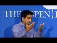 Sal Khan discusses 'The One World Schoolhouse: Education Reimagined' at the Aspen Institute